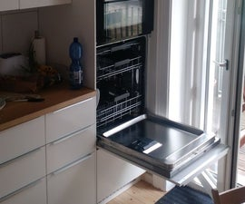 Elevated Dishwasher