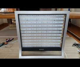How to Make a Super Bright LED Light Panel - Simple Version