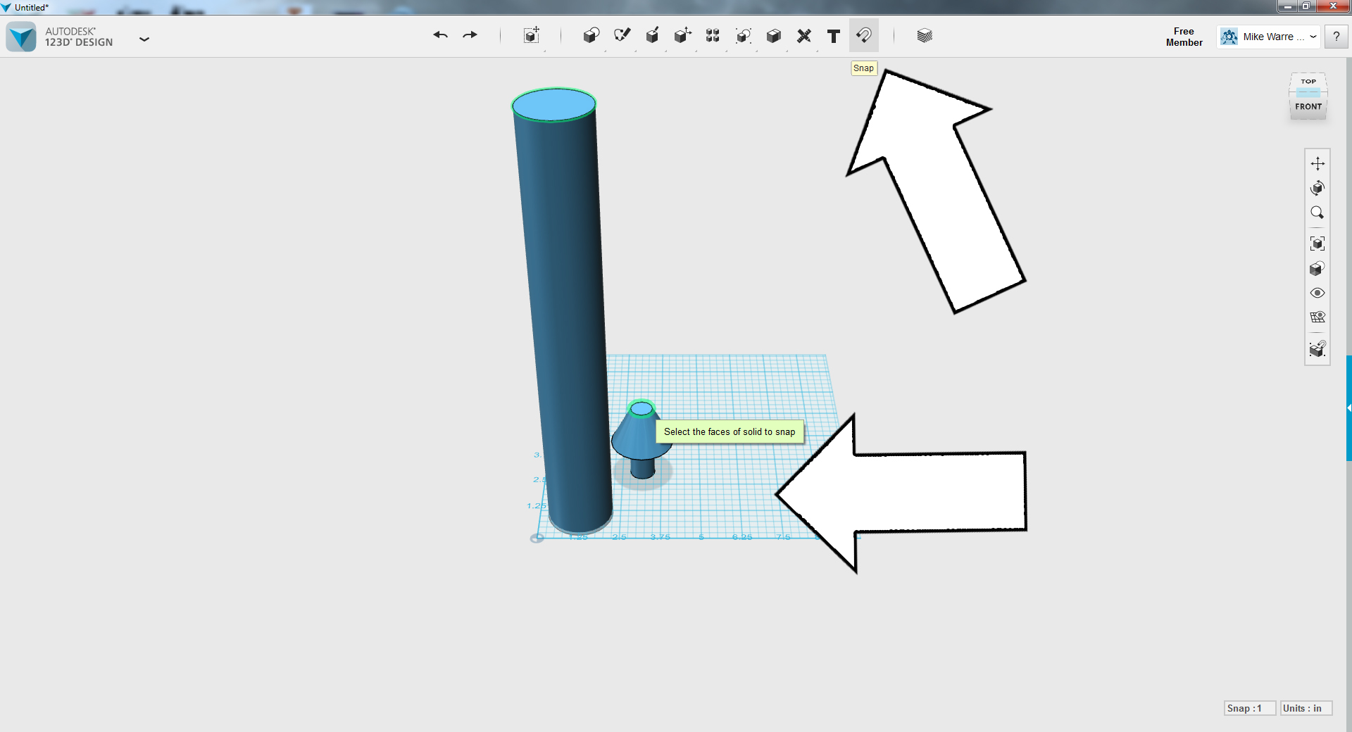 Picture of TinkerCAD - Scale Lamp Model