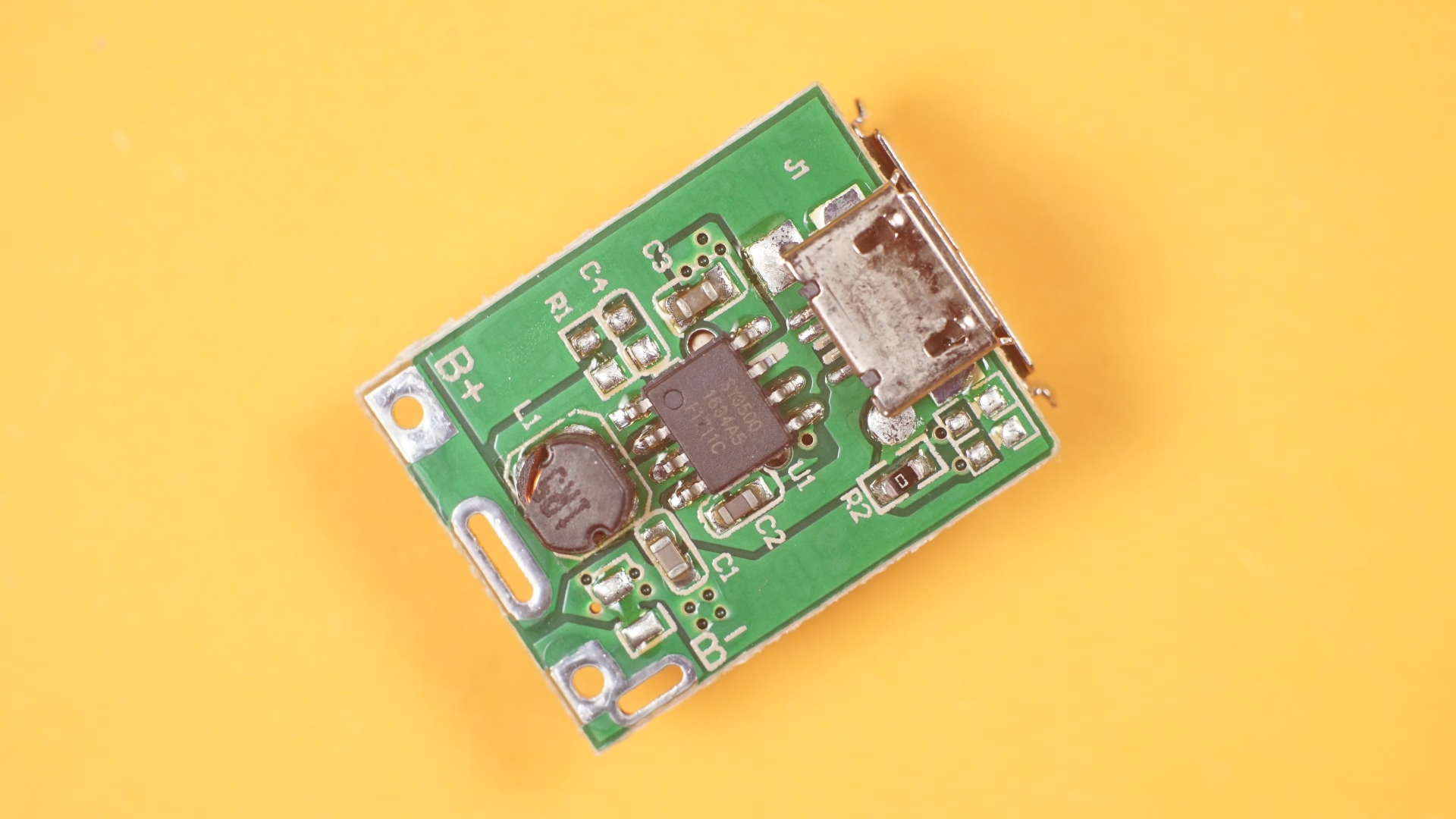 Picture of Remove USB Connectors From the Power Bank Board