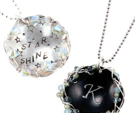 Stamp It, Dap It, Wrap It - Metal Stamping Necklaces With Kate Richbourg at Beaducation - Step by Step Jewelry Making Video Tutorials
