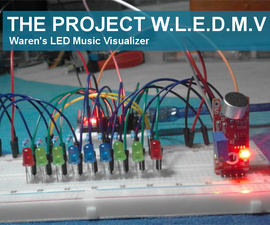 Waren's L.E.D Music Visualizer