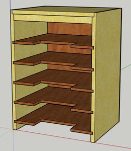 Materials, Tools, Cut List & CAD Model