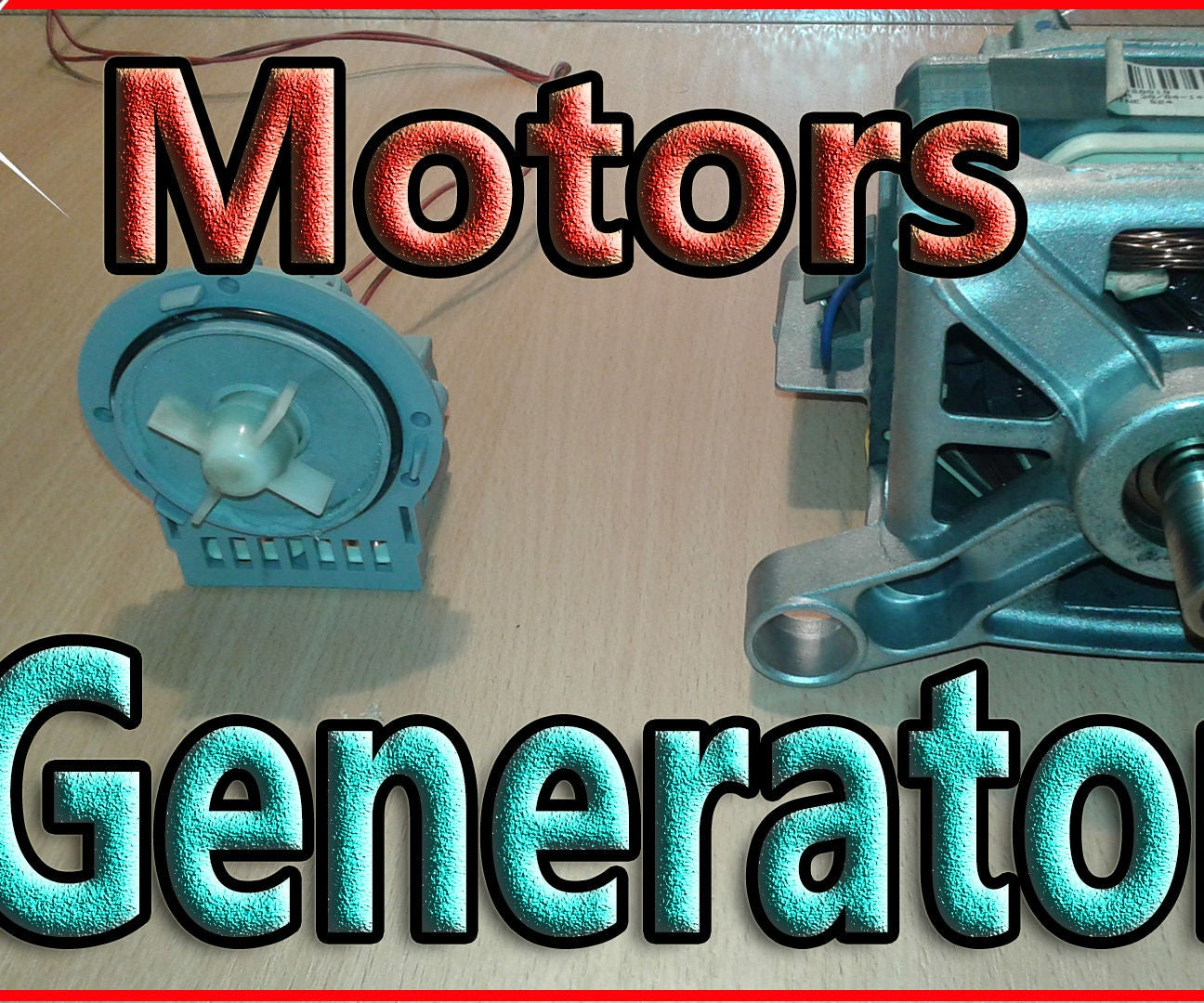How to Wire a Washing Machine Motor As Generator: 3 Steps (with ...