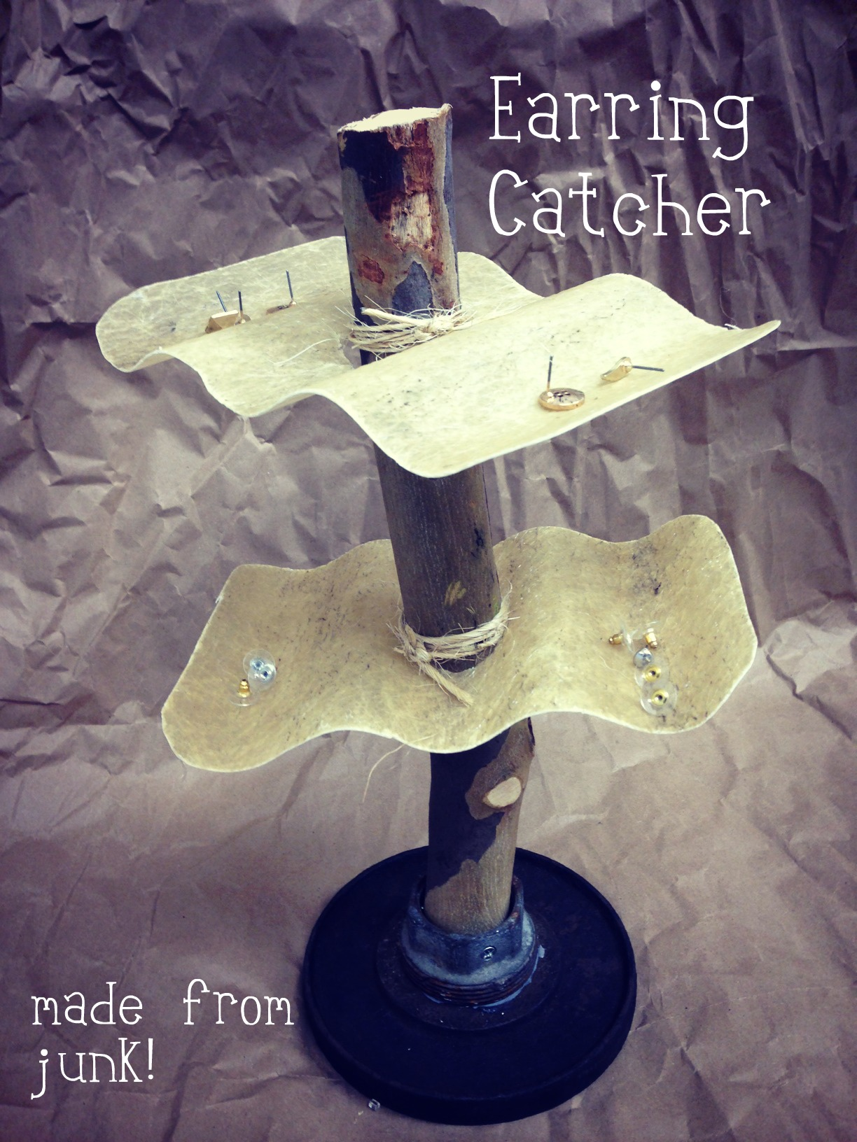 Picture of Found Object Earring Catcher