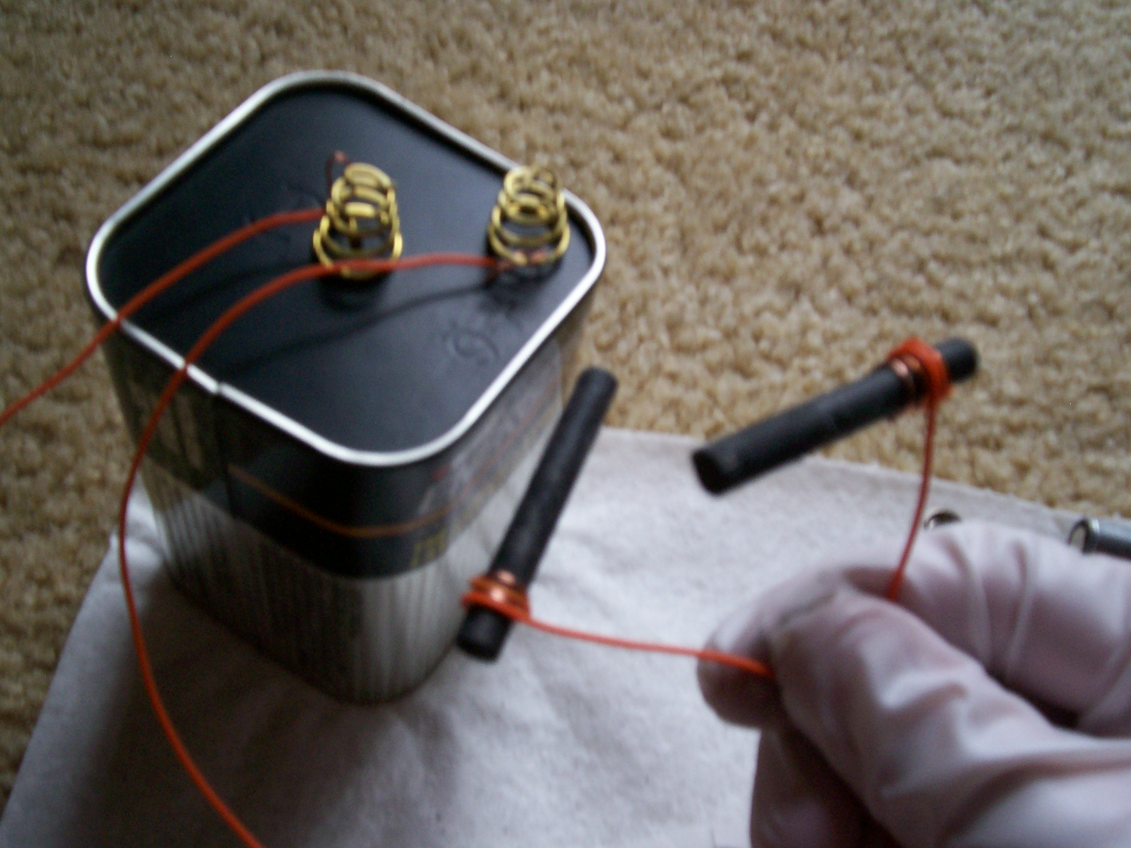 Picture of Rigging Up the Battery