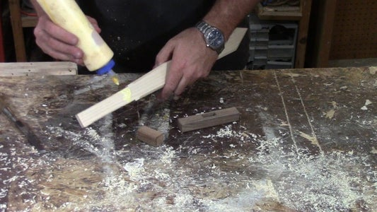 Glue Up Your Cross Guard.