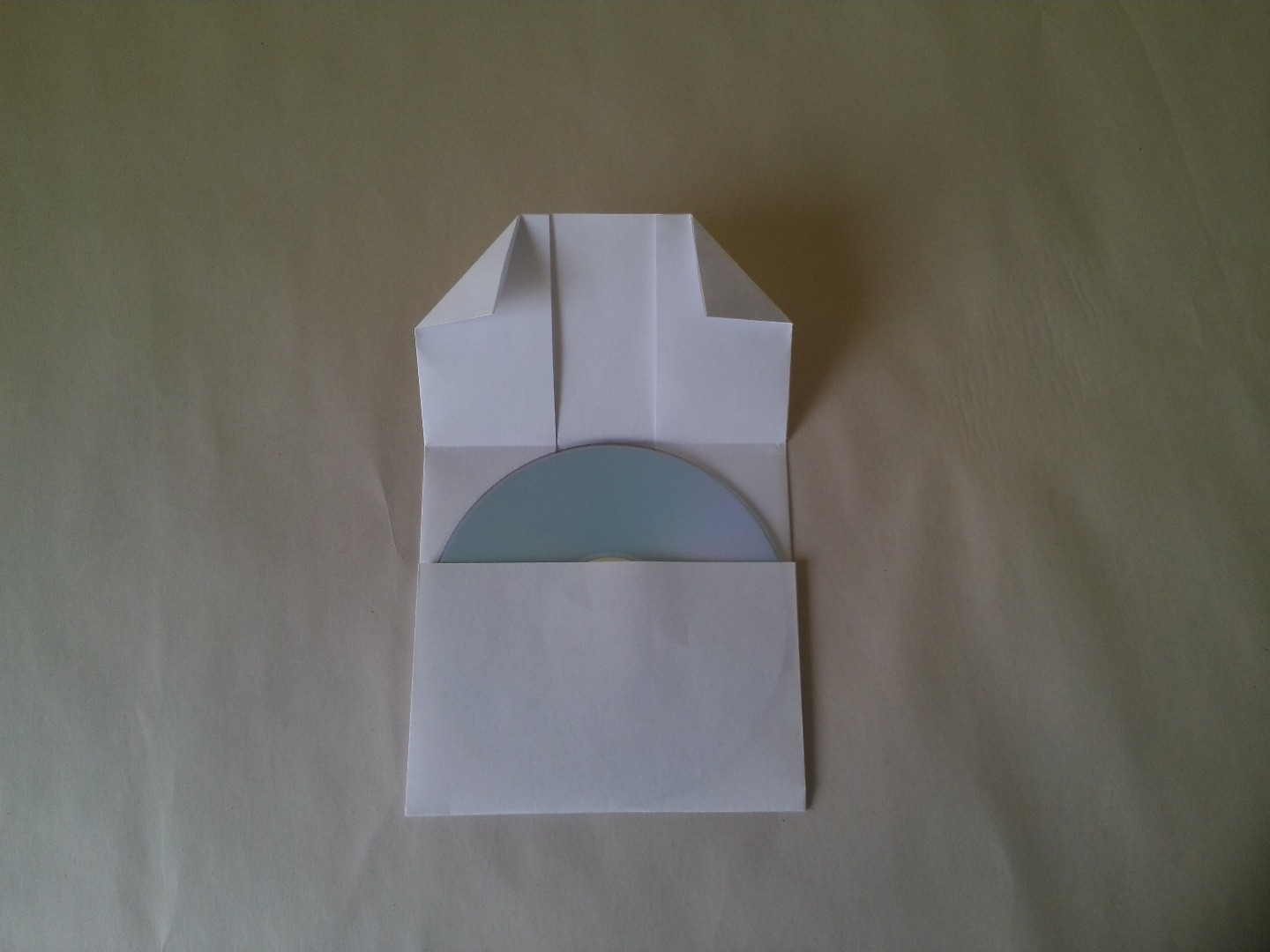 Picture of And Fold the Corners Down As Shown.