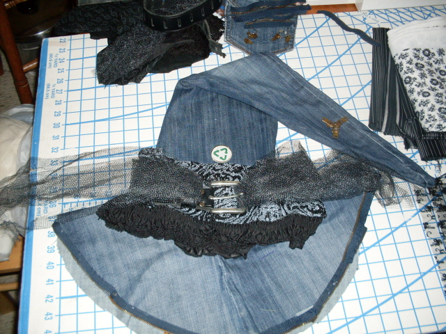 Picture of Witch Hat Sewing
