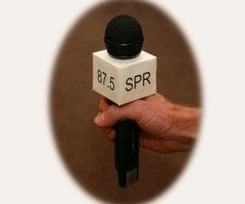 Microphone Flag