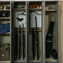 Gun Locker Using Actual Lockers!