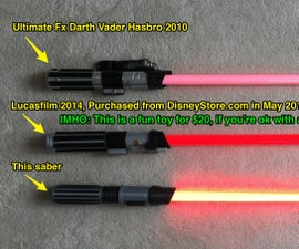 How to Make a WiFi Controlled LightSaber (kid's Size)