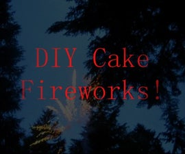 How to Make a Cake Firework, with Mini Canister Shells