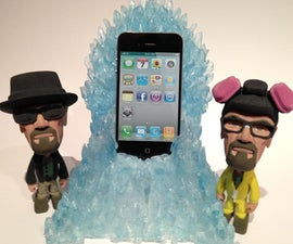 The Blue Meth Throne Charging dock for iphone / Android