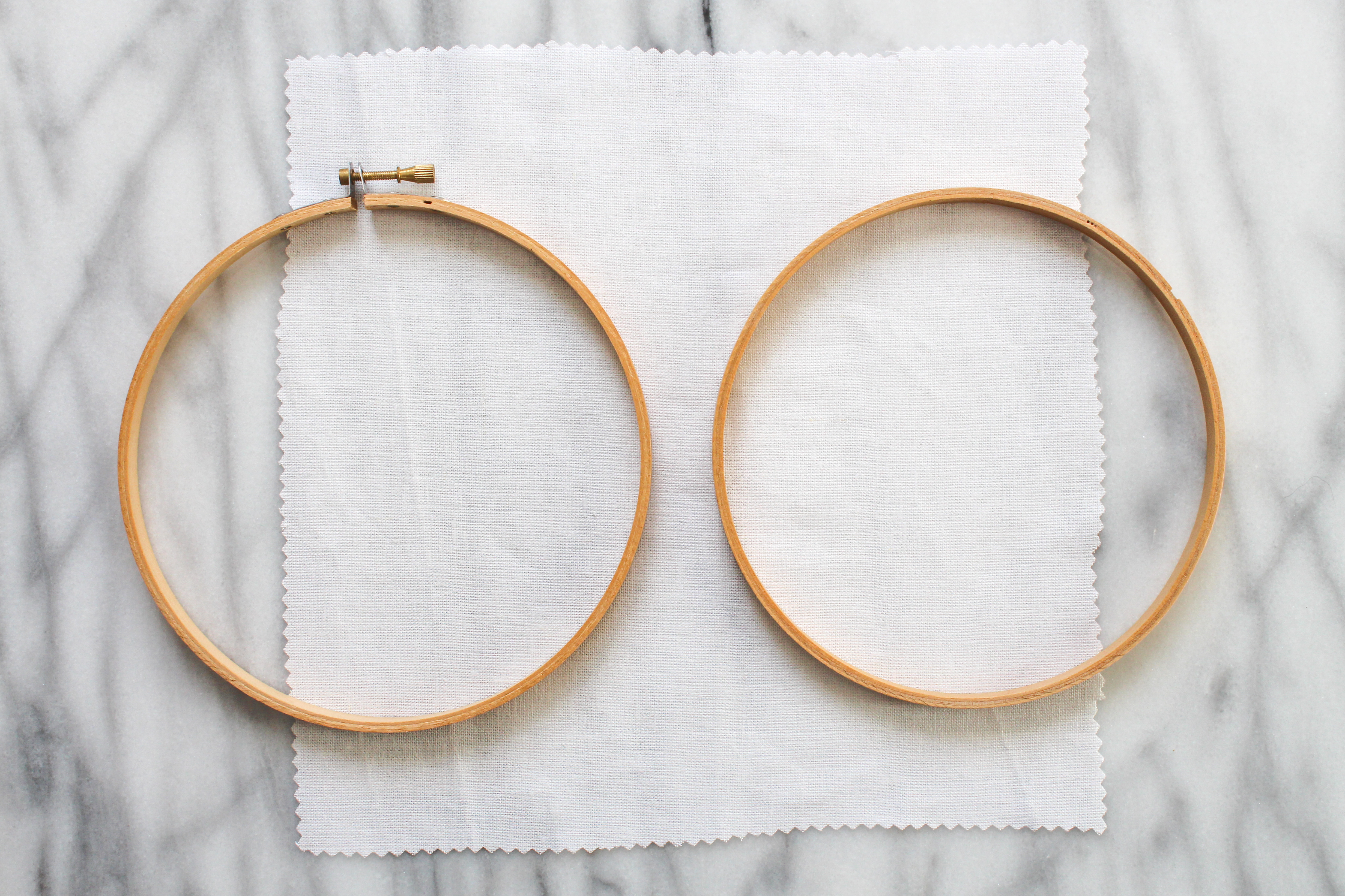 Picture of How to Use an Embroidery Hoop