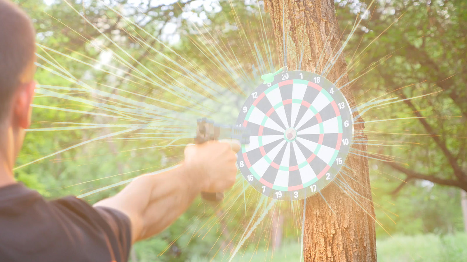 Picture of How to Make an Exploding Target