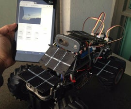 Environmental Monitoring Rover - powered by Intel Edison