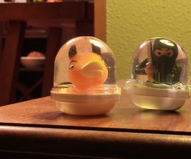 Mini Water/Snow Globes