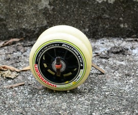 Very Easy Rollerblade Wheels Rubber Band Car