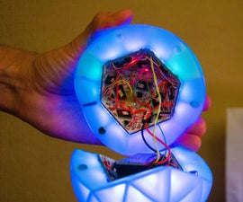 Ommatid Spherical Display: Electronics, Programming and Interactivity