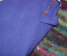 How to upcycle (AKA felt/full) a wool sweater