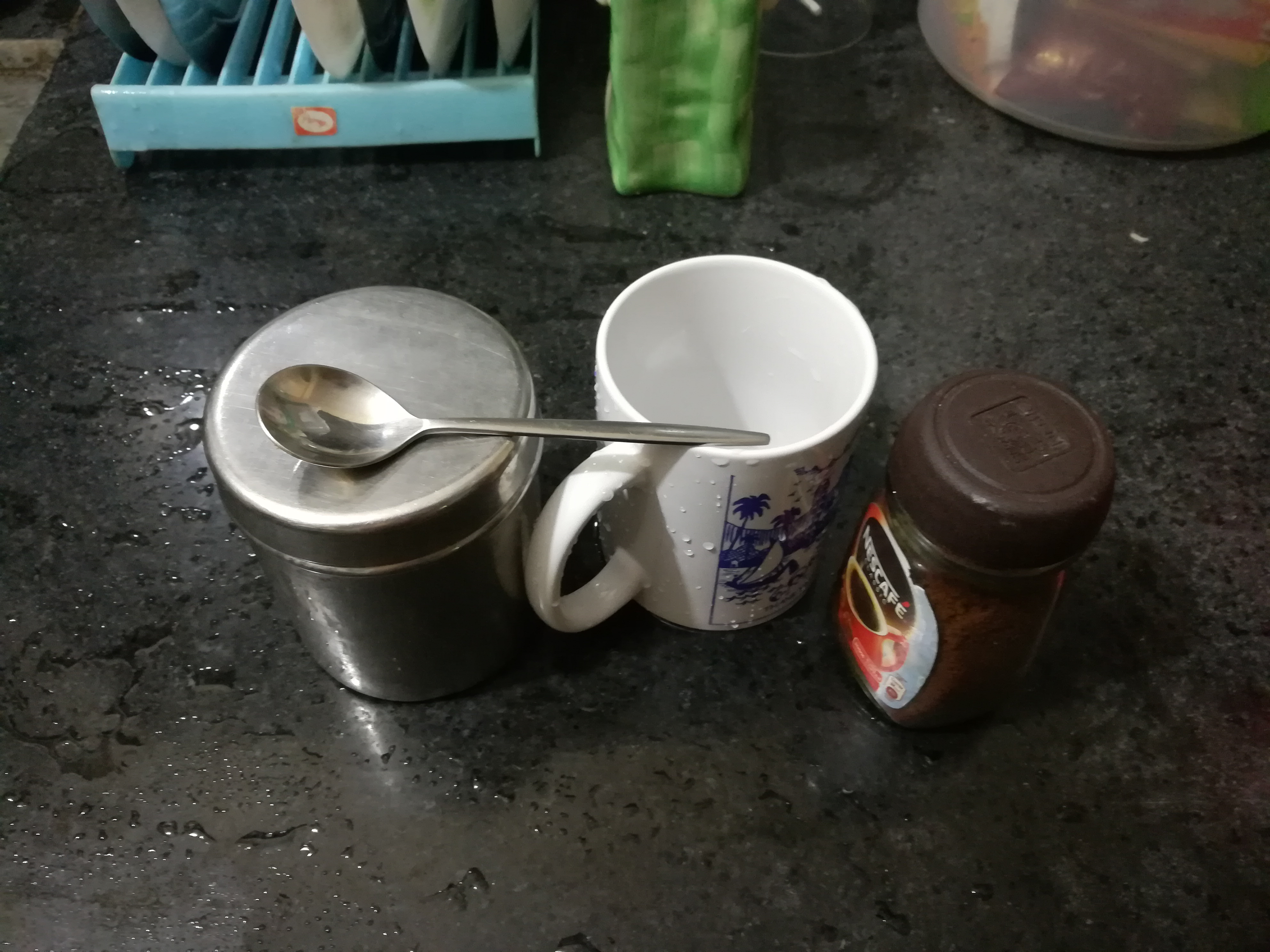 Picture of Beaten Coffee With Nescafe Granules