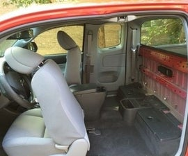 How to Remove the Back Seats From Your Pick Up Truck