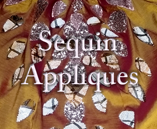 Picture of How to Make Sequin Appliques