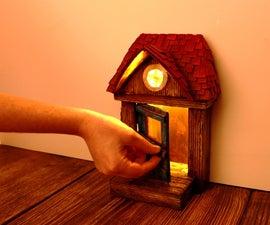 DIY Fairy Door Using Cardboard