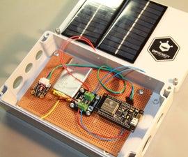 ESP32 Solar Weather Station