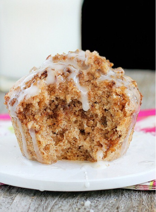 Picture of Coffee Cake in a Mug {Healthy Version}