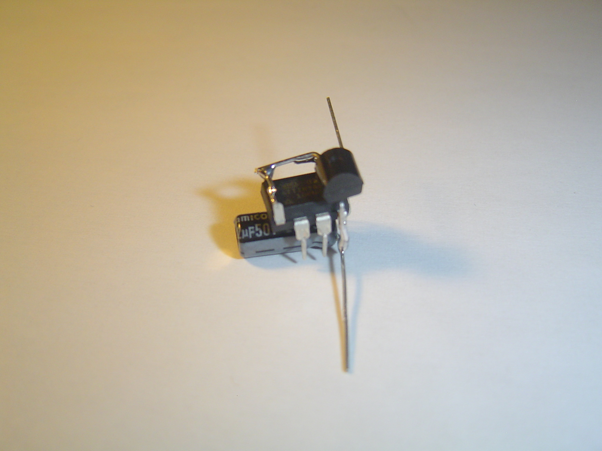Picture of Add the Capacitor