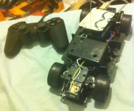 Car Controlled with PS3 controller