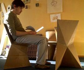 Kraftwerk Cardboard Chair