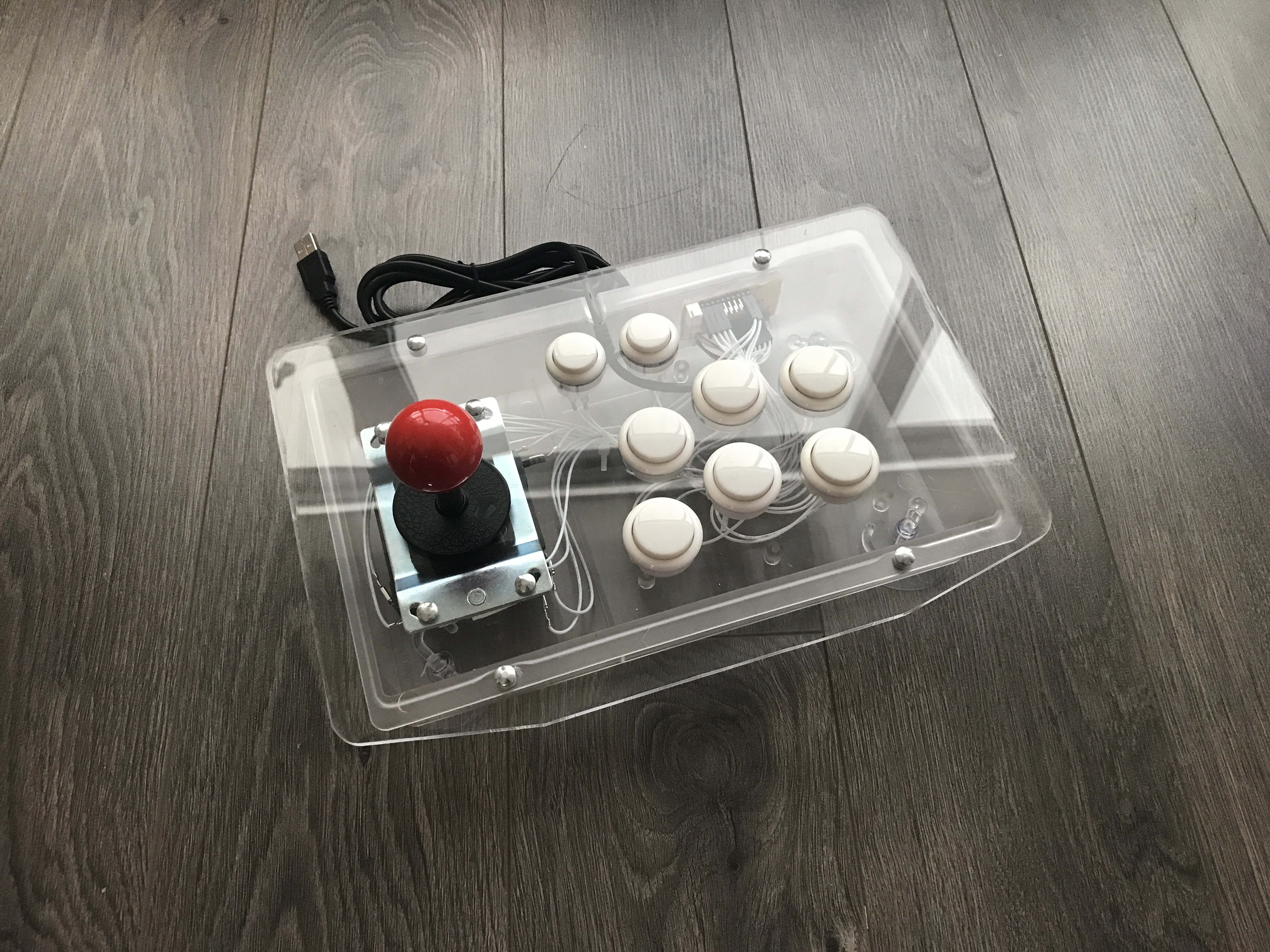 Picture of Raspberry Pi Inside Arcade Stick