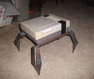 Robot Monster Legs: Space Saving Art!