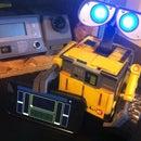 Spark-e - A Spark core + Touch OSC controlled Wall-e toy robot conversion