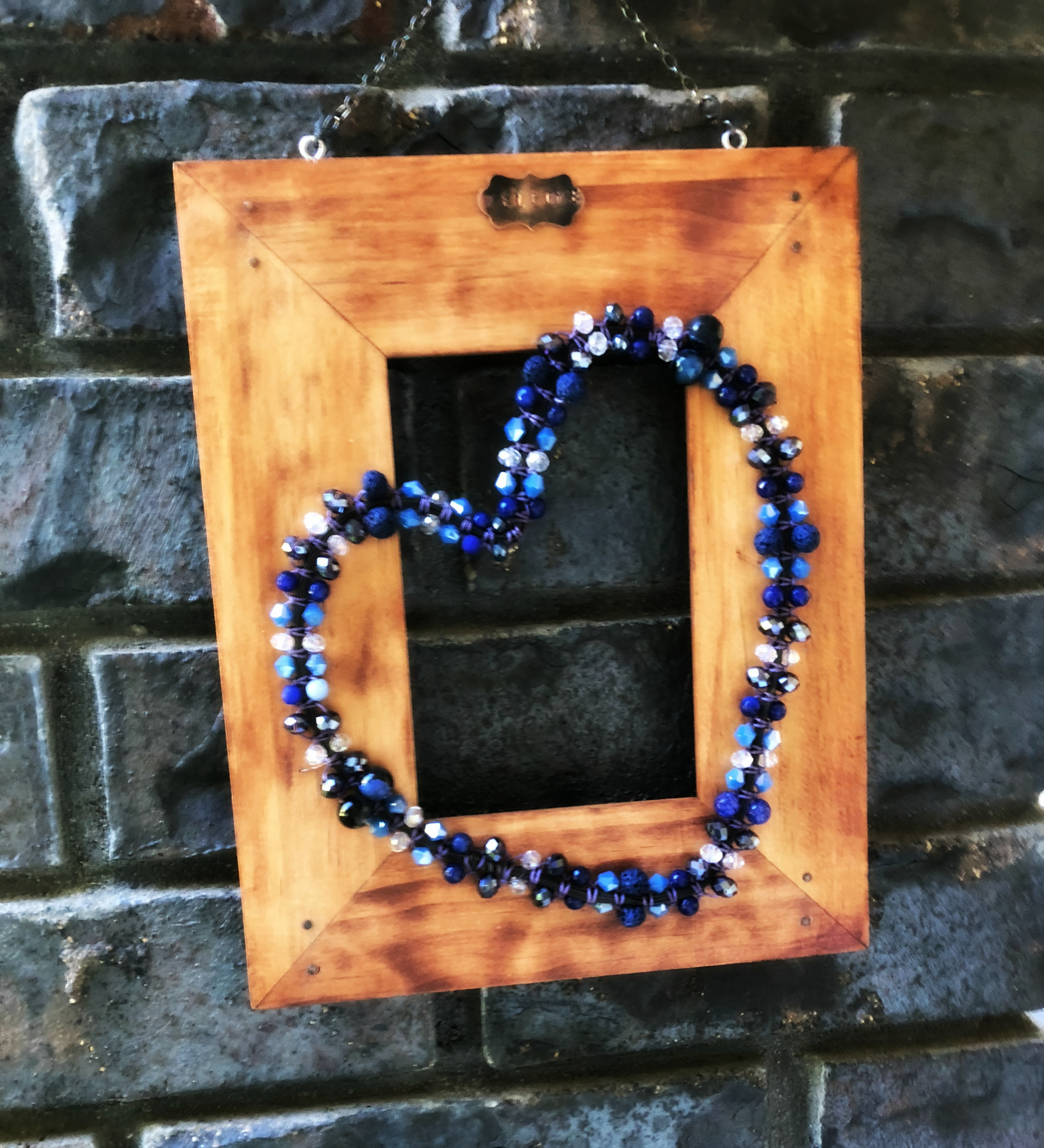 Picture of Beaded Macrame Wreath