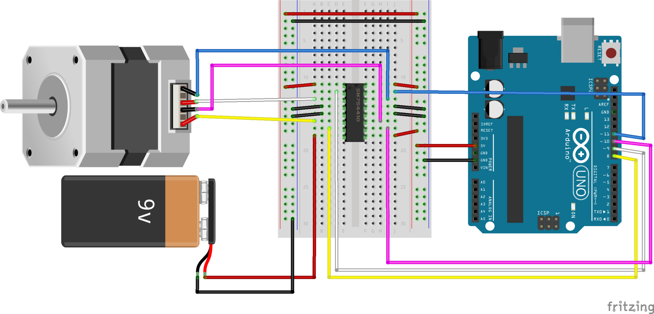 Controlling a Stepper Motor With an Arduino: 8 Steps (with Pictures)