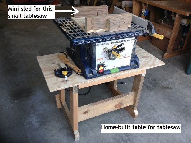 Picture of Table for a Cheap Tablesaw