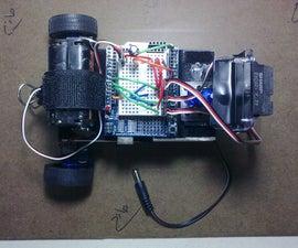 Arduino-based robot with IR radar
