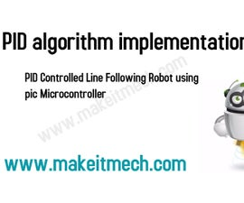 PID CONTROLLED LINE FOLLOWING ROBOT