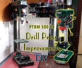 Cheap Drill Press Improvements