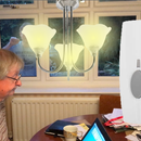 Hearing Impaired Doorbell Room Light Hack