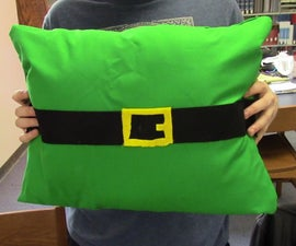 No Sew Pillow St. Patrick's Day Pillow