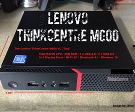 Upgrading the Lenovo ThinkCentre M600