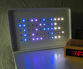 Arduino Powered Sunrise Alarm Clock With Neopixels