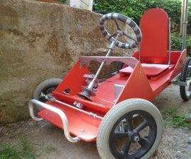 Gravity-powered Go-kart