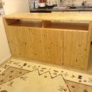Kitchen Counter Made Of HINOKI