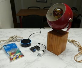 Smart Lamp With ESP8266 & Amazon Echo